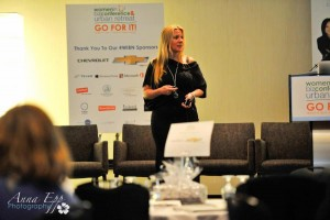 Anastasia Speaking at Women in Biz Annual Conference
