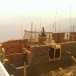 A nearly completed house in Rainaskot (1)